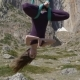 Anti-gravity Yoga in the Mountains - VideoHive Item for Sale