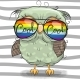 Owl with Sun Glasses - GraphicRiver Item for Sale