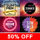 Summer Flyer - Bundle - GraphicRiver Item for Sale