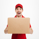 Shocked excited delivery man - PhotoDune Item for Sale