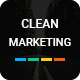 Clean Marketing Google Slide Template 2018