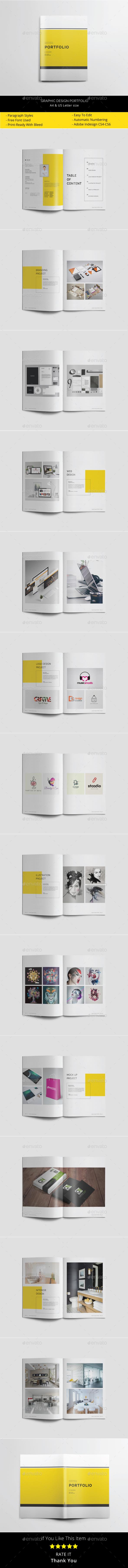 Graphic Design Portfolio - Portfolio Brochures