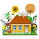 Vector Garden House