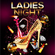 Ladies Night Flyer Template 2