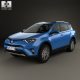Toyota RAV4 Hybrid with HQ interior 2016