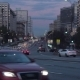 Cityscape at Dusk with the Cars Traffic on a Large City Street - VideoHive Item for Sale