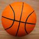 Basketball ball on court floor - PhotoDune Item for Sale