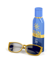 Sunscreen lotion and female sunglasses - PhotoDune Item for Sale