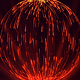 Abstract Sphere of Particles with Light Rays - VideoHive Item for Sale
