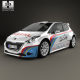 Peugeot 208 R5 2013 - 3DOcean Item for Sale