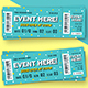 Event Ticket vol.5 - GraphicRiver Item for Sale