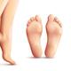 Realistic Female Feet Set