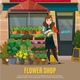 Flower Shop Illustration