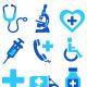 Medical Health Care Icon Sets, Symbols
