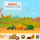 Bread Manufacture Poster