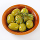 bowl of green olives with rosemary - PhotoDune Item for Sale