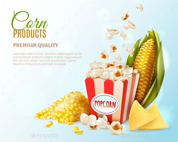 Corn Products Composition - Food Objects
