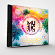 Super Music Festival CD/DVD Photoshop Template