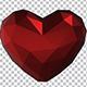 Polgonal Heart - VideoHive Item for Sale