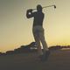 golfer hitting long shot - PhotoDune Item for Sale