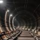 Turn in the underground metro tunnel - PhotoDune Item for Sale