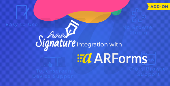 Signature Addon for Arforms - CodeCanyon Item for Sale