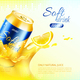 Soft Drink Metal Can Poster