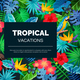 Tropical Exotic Background - GraphicRiver Item for Sale