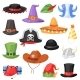 Cartoon Hats - GraphicRiver Item for Sale