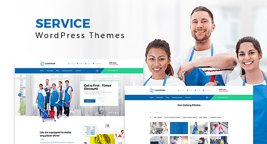 Multipurpose Service WordPress Themes