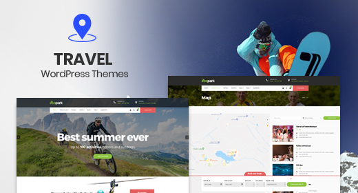 Tour, Vacation & Travel Hotel WordPress Themes