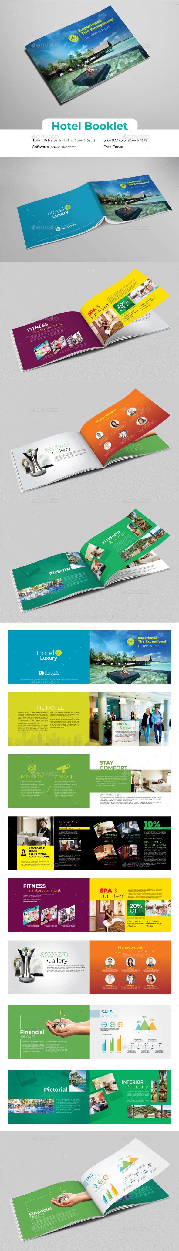 Hotel Booklet - Portfolio Brochures