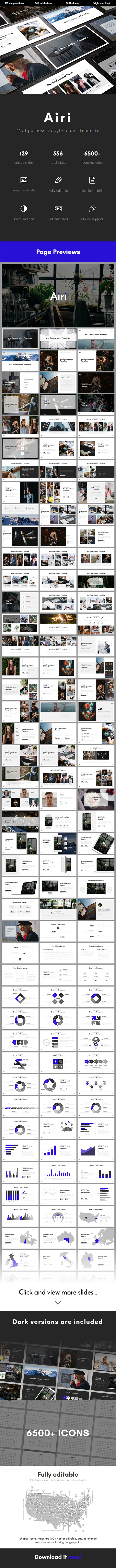 Airi Multipurpose Google Slides Template - Google Slides Presentation Templates
