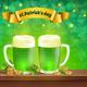 Saint Patricks Day Beer Composition