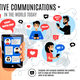 Dynamic Interactive Electronic Communication Composition - GraphicRiver Item for Sale