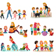 Kindergarten Icons Set - GraphicRiver Item for Sale