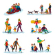 Winter Recreation Set - GraphicRiver Item for Sale