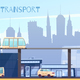 Urban Eco Transport Cartoon Illustration - GraphicRiver Item for Sale