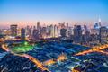 shanghai modern building skyline in nightfall - PhotoDune Item for Sale