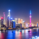 shanghai panorama skyline at night - PhotoDune Item for Sale
