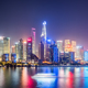 shanghai skyline in evening  - PhotoDune Item for Sale