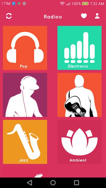 Radioo | Android Universal Multi Radio Stations App Template