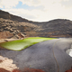 Green volcanic lake Charco de los Clicos at Lanzarote - PhotoDune Item for Sale