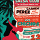Salsa Flyer Template V4 - GraphicRiver Item for Sale