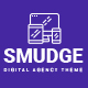 Smudge - A Fresh Digital Agency PSD Template - ThemeForest Item for Sale