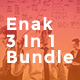 Enak Bundle 3 In 1 PowerPoint - GraphicRiver Item for Sale