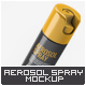 Aerosol Spray Mock-Up
