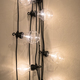 Vintage style light bulbs hanging from the wall - PhotoDune Item for Sale