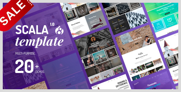 Image of Scala | Multi-Purpose Onepage - Multipage Drupal 8.5 Theme