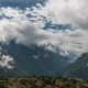 The Movement of Clouds Over the Highland Valley - VideoHive Item for Sale
